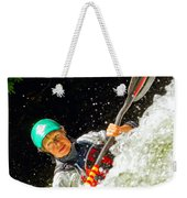 Whitewater Kayak Weekender Tote Bag