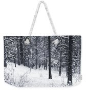 Winter In Pike National Forest Weekender Tote Bag