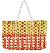Wool Pattern Weekender Tote Bag