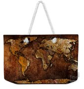 World Map Weekender Tote Bag