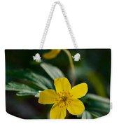 Yellow Wood Anemone Weekender Tote Bag