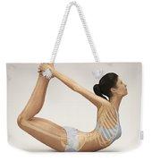 Yoga Bow Pose Weekender Tote Bag
