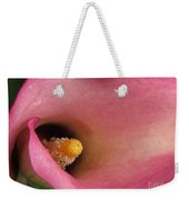 Zantedeschia Named Mozart Weekender Tote Bag