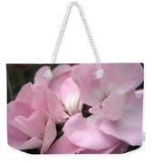 Zonal Geranium Named Tango Light Orchid Weekender Tote Bag