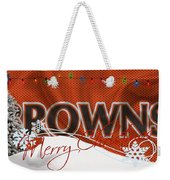 Cleveland Browns Weekender Tote Bag