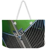 40 Ford - Grill Detail-8633 Weekender Tote Bag