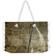 40 Sailboat - With Open Wings In A Grunge Background  Weekender Tote Bag
