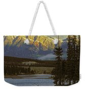 4028a, Evening Skyline, Montreal, Qc Weekender Tote Bag