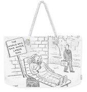 New Yorker September 4th, 2006 Weekender Tote Bag