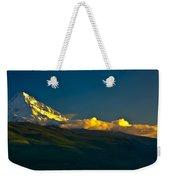 41010-91 A Mt Hood Sunset Weekender Tote Bag