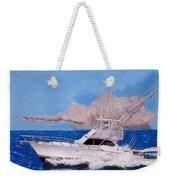 Storm Chasing On The High Seas Weekender Tote Bag