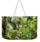 Jungle Weekender Tote Bag by Les Cunliffe