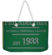 Philadelphia Eagles Weekender Tote Bag