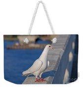 21- White Dove Weekender Tote Bag