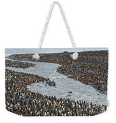 King Penguins Weekender Tote Bag