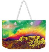 Space Landscape Weekender Tote Bag
