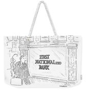 First Nationalized Bank Weekender Tote Bag