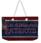 New England Patriots Weekender Tote Bag