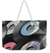 45 Records Nostalgia Weekender Tote Bag