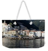 Views From The Amalfi Coast In Italy Weekender Tote Bag