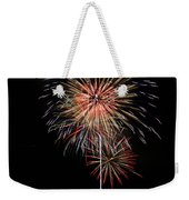 4th Of July 3 Weekender Tote Bag by Marilyn Hunt