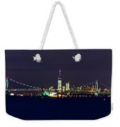 4th Of July New York City Weekender Tote Bag