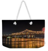 4th Of July Over The Big Easy Part Deaux Weekender Tote Bag by David Morefield