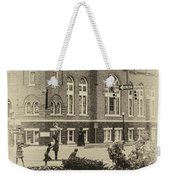 16th Street Baptist Church In Black And White With A White Vingette Weekender Tote Bag