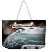 1940 Chevrolet Hood Ornament Weekender Tote Bag