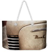 1940 Nash Sedan Grille Weekender Tote Bag