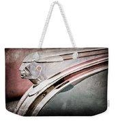 1948 Pontiac Chief Hood Ornament Weekender Tote Bag