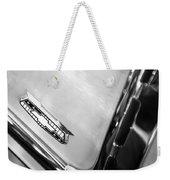 1955 Chevrolet Belair Emblem Weekender Tote Bag