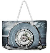 1956 Ford Thunderbird Spare Tire Weekender Tote Bag