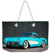 1957 Chevrolet Corvette Weekender Tote Bag