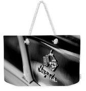 1958 Chevrolet Impala Emblem Weekender Tote Bag