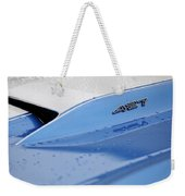 1967 Chevrolet Corvette 427 Hood Emblem Weekender Tote Bag