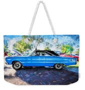 1967 Plymouth Belvedere Gtx 440 Painted  Weekender Tote Bag