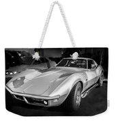 1969 Chevrolet Corvette 427 Bw Weekender Tote Bag