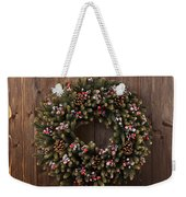 Advent Christmas Wreath Decoration Weekender Tote Bag