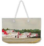 Airplanes At The Airshow Weekender Tote Bag