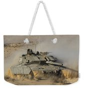 An Israel Defense Force Magach 7 Main Weekender Tote Bag