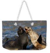 Antarctic Fur Seals Weekender Tote Bag