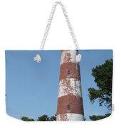 Assateague Lighthouse  Weekender Tote Bag