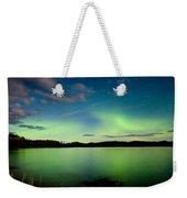 Aurora Borealis Northern Lights Display Weekender Tote Bag