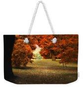 Autumn Ablaze Weekender Tote Bag