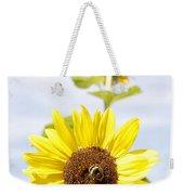 Bee On Flower Weekender Tote Bag