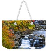 Berea Falls Weekender Tote Bag by Frozen in Time Fine Art Photography