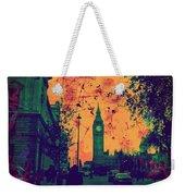 Big Ben Street Weekender Tote Bag