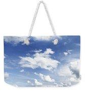 Big Blue Sky Weekender Tote Bag