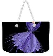 5 Blue Ballerina Weekender Tote Bag